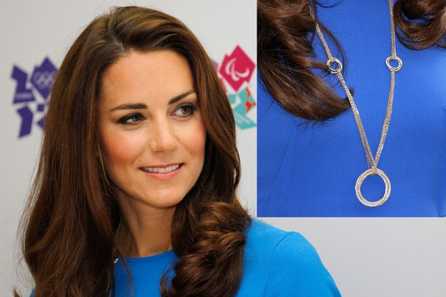 Kate Middleton e la collana olimpica da 70.000 dollari.