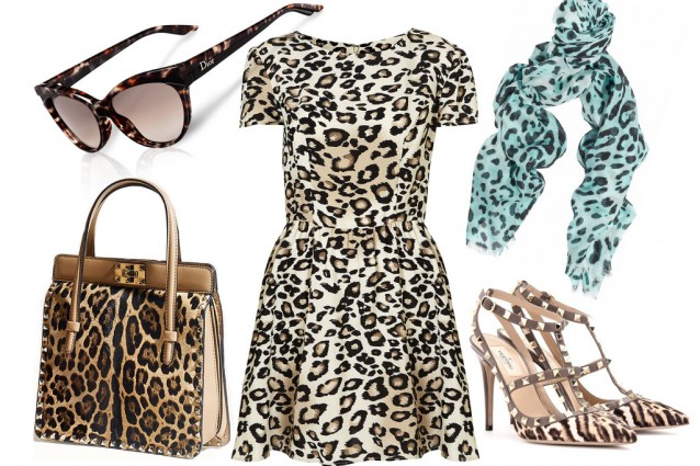 Come creare un look savage con abiti e accessori animalier.