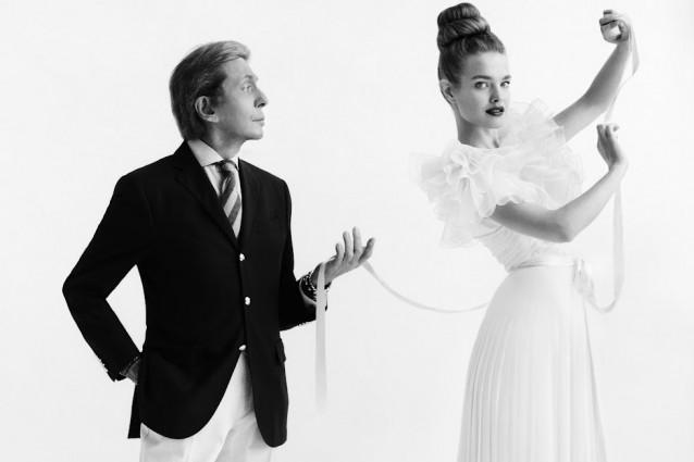 Valentino fashion house history 80