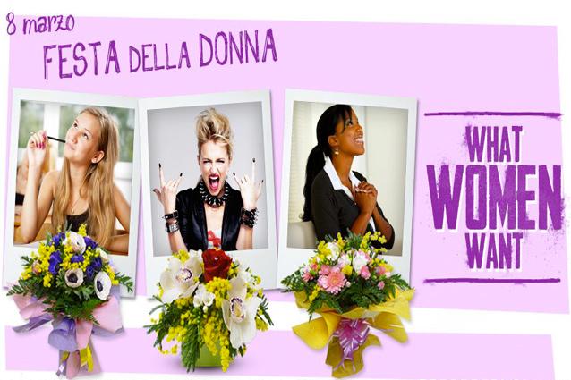 8 marzo cosa vogliono le donne fiori donna fanpage - Cosa desiderano le donne a letto ...
