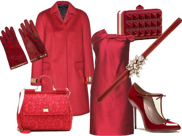 A Natale vestiti di rosso! Abiti e accessori per le feste ...