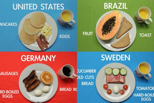 Cosa si mangia nel mondo a colazione video donna fanpage - Cosa mangia un cucciolo di talpa ...