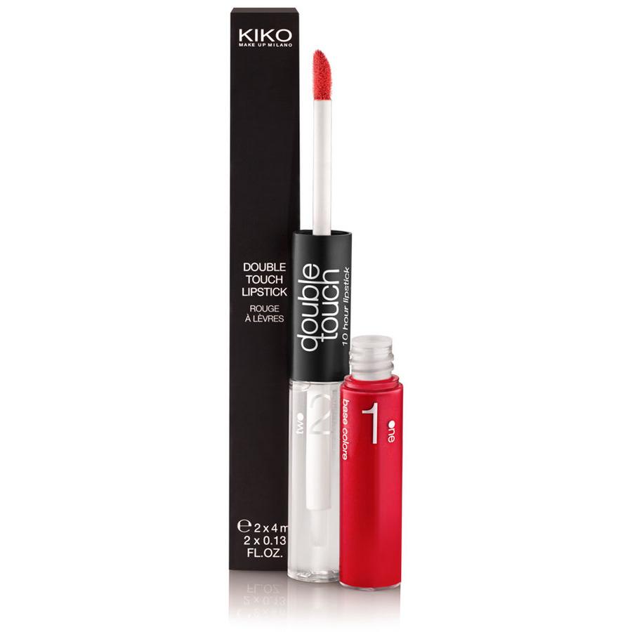 Tinta per labbra: kiko double touch lipstick (6.90€)