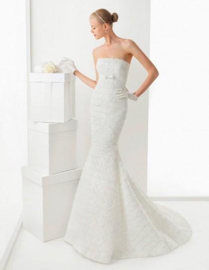 Gli abiti da sposa a sirena  Donna Fanpage