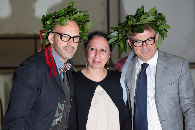 Antonio marras riceve laurea honoris causa donna fanpage for Laurea in belle arti
