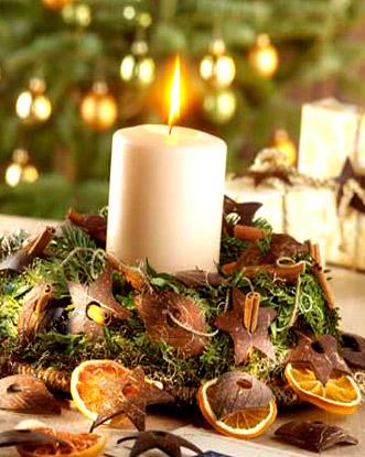 Centrotavola e portatovaglioli decorare la tavola per la festa di natale donna fanpage - Decorare la tavola per carnevale ...