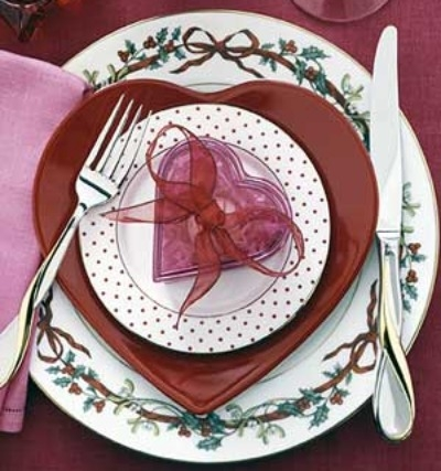 Come apparecchiare la tavola per san valentino donna fanpage - Idee tavola san valentino ...