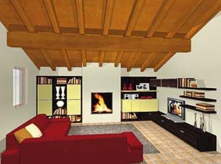Come arredare un soggiorno moderno idee per disporre - Idee arredamento mansarda ...