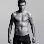 David Beckham in boxer neri h&m