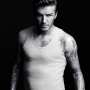 David Beckham in cannottiera h&m