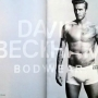 David Beckham in copertina per h&m