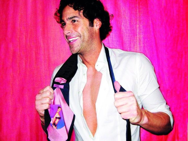Fabio Galante e la sua Pink Pocket Tie