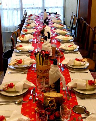 Segnaposto natalizi per le feste personalizza la tavola - Tavola di natale fai da te ...