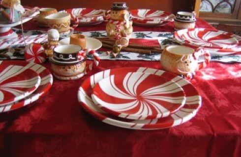 Il natale in tavola consigli e idee decorative donna - Idee addobbo tavola natale ...