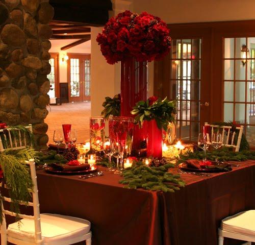 Consigli e idee per decorare con stile la tavola di natale - Idee addobbo tavola natale ...