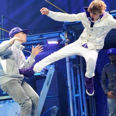 Justin Bieber World Tour on Justin Bieber My World Tour