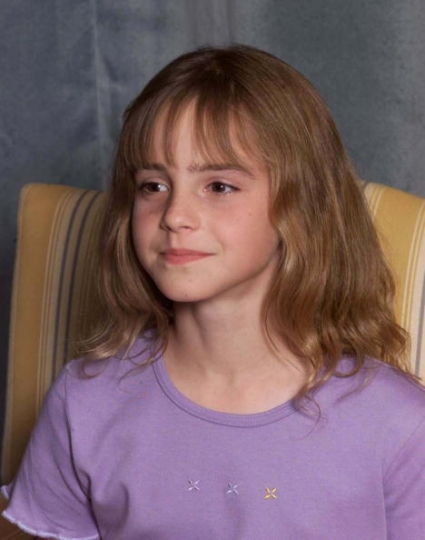 Emma Watson nell\'agosto del 2000