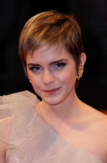 Emma Watson nel febbraio del 2011