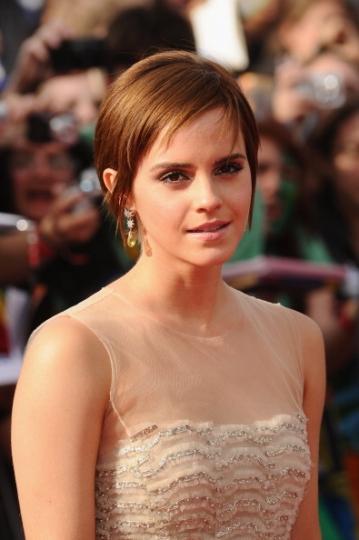Emma Watson nel luglio del 2011