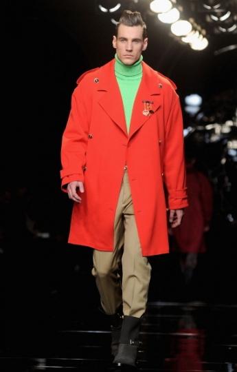 Cappotto uomo colorato