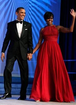 dress lungo-rosso-per michelle obama