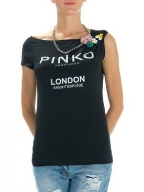 shirt a mezze maniche nera constampa