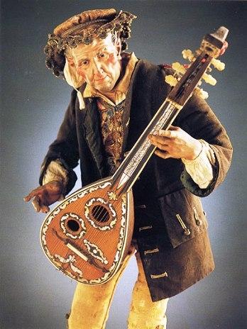pastore musico tipico della tradizione napoletana