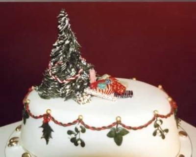 Torte al cioccolato decorate per natale donna fanpage - Torte natalizie decorate ...