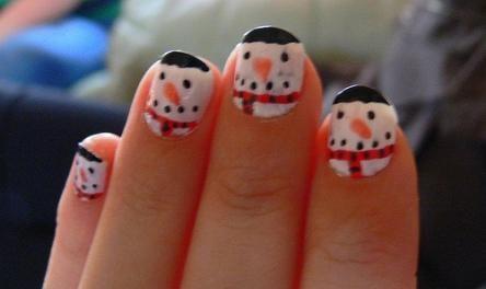 Unghie natalizie donna fanpage for Decorazioni natalizie unghie