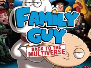 Family Guy Road To Multiverse Anteprima