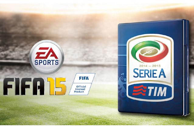 Fifa 15, ufficiale la partnership con la Lega Serie A TIM.