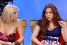 Teresanna e Giulia litigano