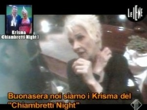 I Krisma perdono il controllo: il video del pugno a la Iena.