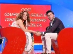 Antonio e Teresanna durante la puntata finale