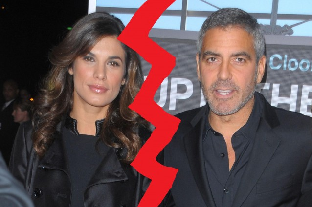 Clooney cancella le tracce della Canalis per amore di Stacy.
