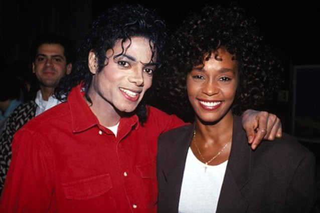 Whitney Houston amava Michael Jackson.