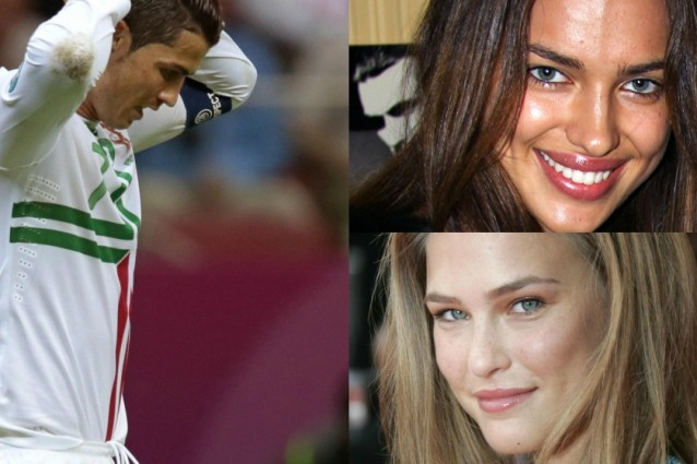 Irina Shayk e Bar Refaeli litigano per Ronaldo.