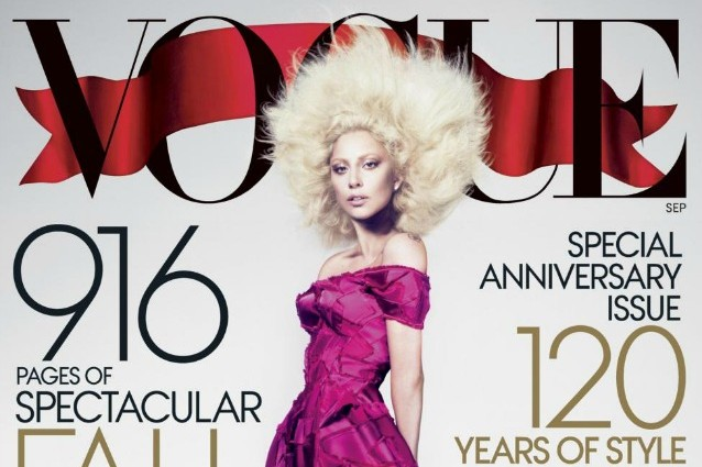 Lady Gaga senza veli per Vogue.