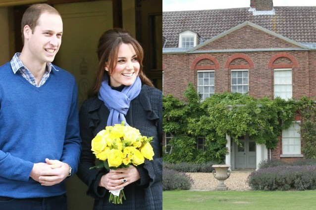 La casa dei sogni di Kate e William è un regalo di nonna Elisabetta.