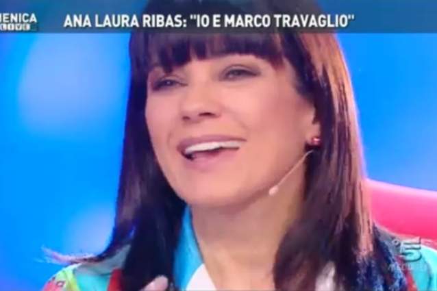 Ana Laura Ribas a Domenica Live: 
