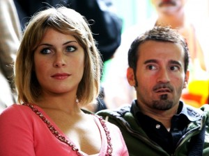 Eleonora Pedron e Max Biaggi