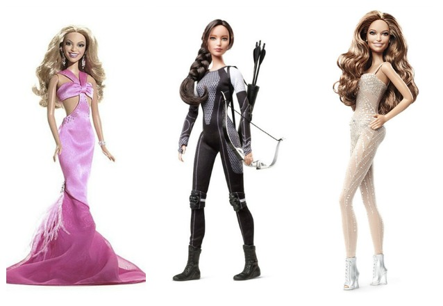 Star in versione barbie guarda i divi diventati bambole for Bambole barbie
