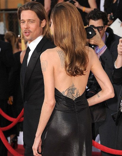 Angelina Jolie Troppo Magra Ai Sag Awards 2012 Gossip