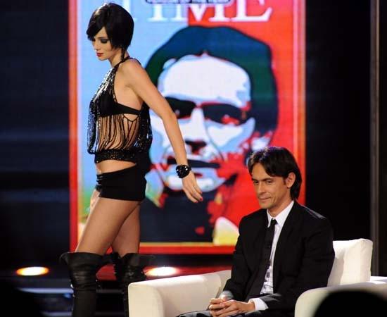 Efe Bal seduce Inzaghi al Chiambretti Night