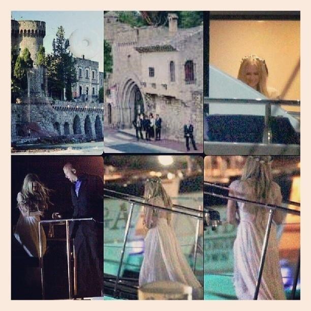 Avril Lavigne Matrimonio In Nero : Avril lavigne sposa di chad kroeger per un matrimonio dark