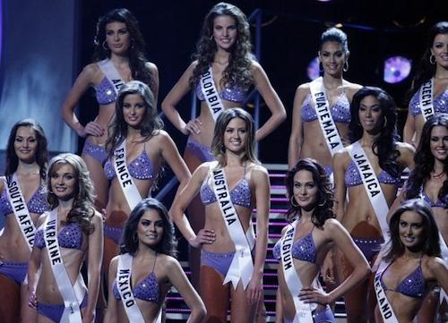 Le concorrenti di Miss Universo 2010