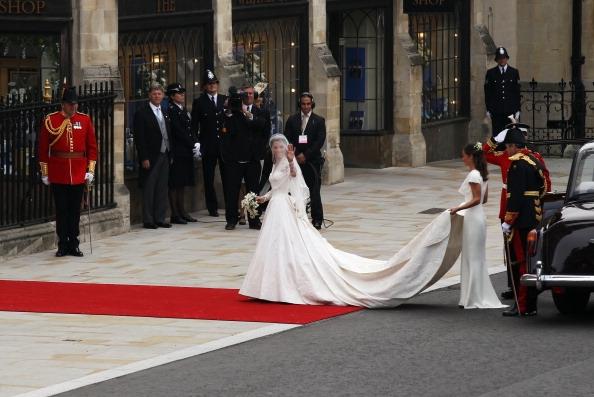 Kate Middleton sul tappeto rosso