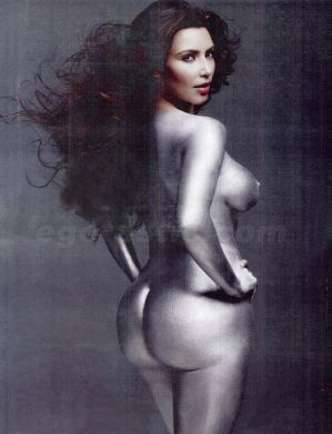 Kardashianmagazine Photos on Kim Kardashian Per W Magazine
