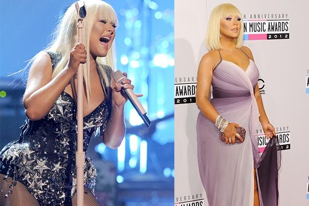 Eccola grassa agli American Music Awards 2012