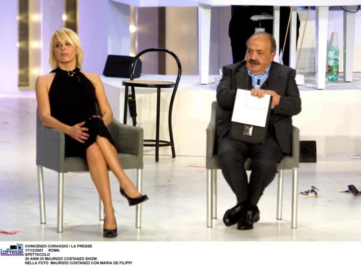 Maria De Filippi al Maurizio Costanzo Show